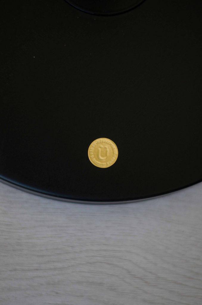 metalen vloerlamp matzwart