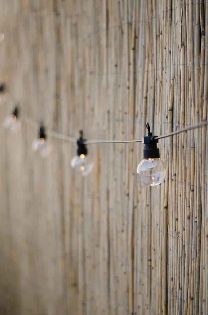 patio lights cotton ball lights